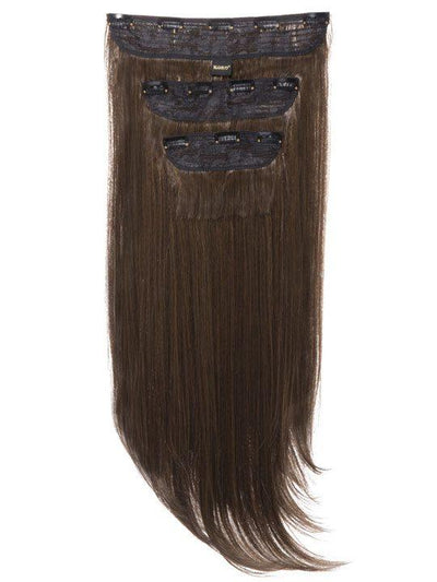 Envy 3 Weft Straight 22″-24″ Hair Extensions in Dark Brown and Caramel - storm desire