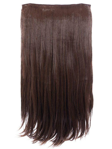 Envy 3 Weft Straight 22″-24″ Hair Extensions in Chestnut Brown - Storm Desire