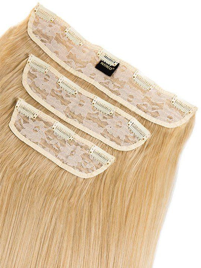 Envy 3 Weft Straight 22″-24″ Hair Extensions in Golden Blonde - storm desire