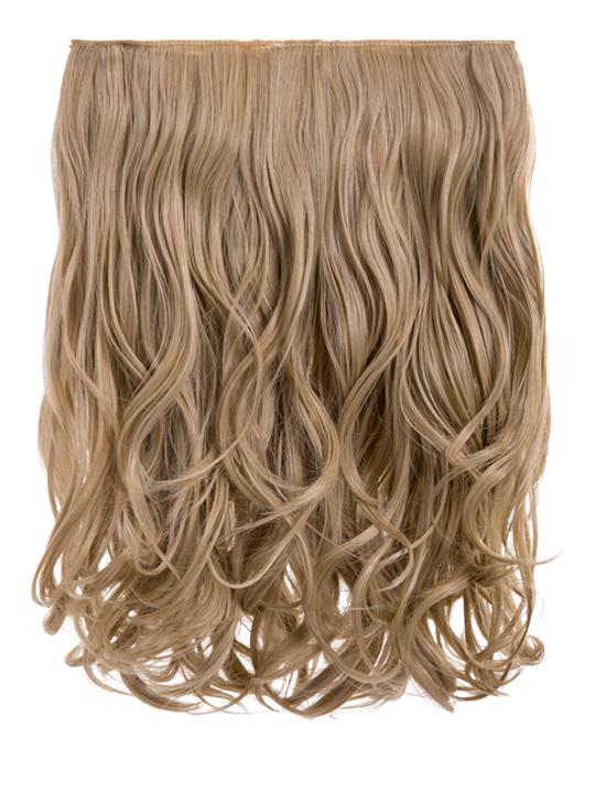 Rosie 1 Weft 16″ Curly Hair Extensions In California Blonde - Storm Desire