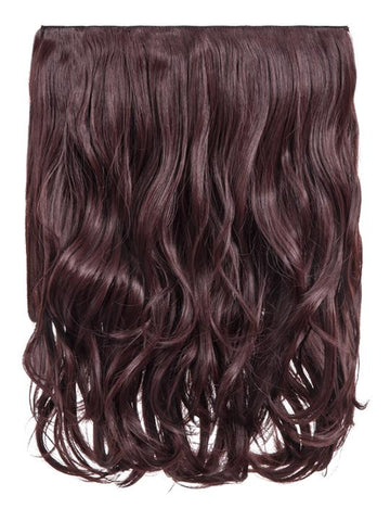 Rosie 1 Weft 16″ Curly Hair Extensions In Plum - storm desire