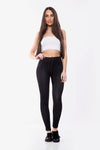 Black Soft Stretch Denim Jeggings - Seinna
