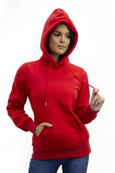 Red Jersey Casual Lounge Hoodie - Kelly