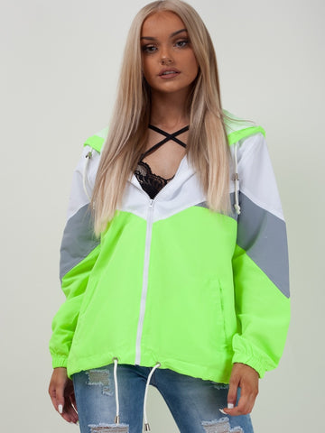 Neon Green Classic Festival Jacket - Athena