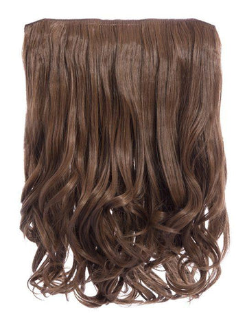 Rosie 1 Weft 16″ Curly Hair Extensions In Golden Brown - storm desire