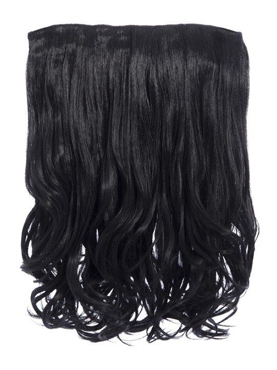 Rosie 1 Weft 16″ Curly Hair Extensions In Natural Black - Storm Desire