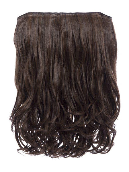 Rosie 1 Weft 16″ Curly Hair Extensions In Warm Brunette - storm desire