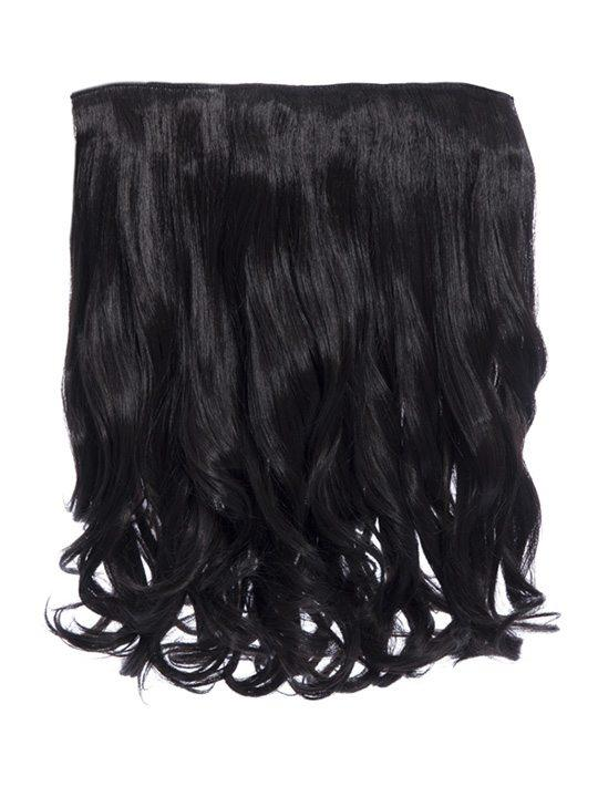 Rosie 1 Weft 16″ Curly Hair Extensions In Raven - Storm Desire