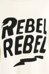Cream Rebel Rebel Baggy Knitted Jumper - Oakley