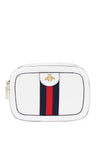 White Bee Stripe Cross body Bag - Kendall