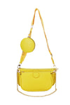 Yellow Strap Trio Bag - Logan