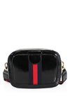 Black Bee Stripe Cross body Bag - Kendall