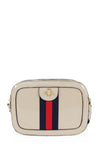 Beige Bee Stripe Cross body Bag - Kendall