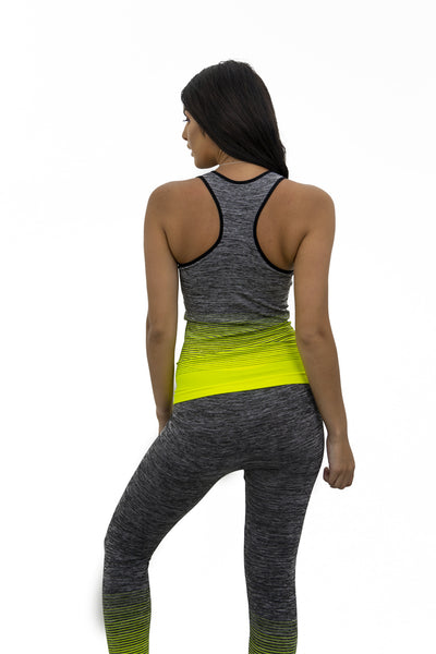 Neon Yellow Gym Set - Sarah
