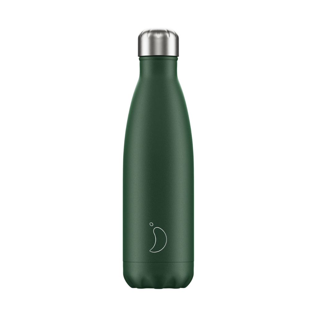 Chilly´s Juomapullo Matte Burnt Green 500ml