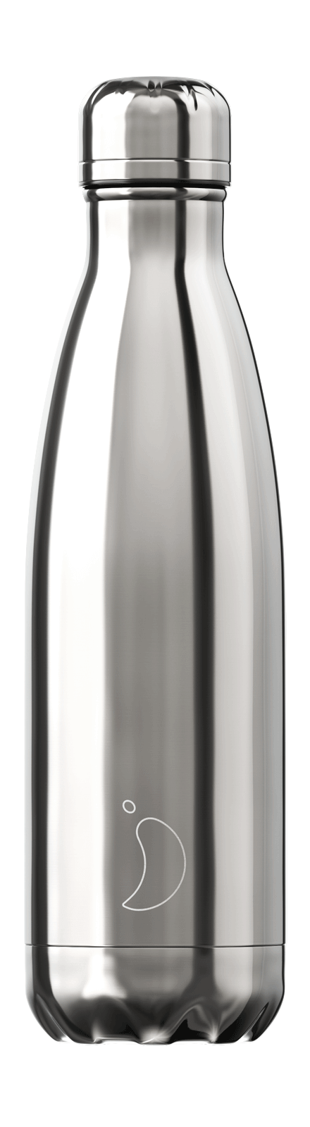 Chilly´s Juomapullo Chrome Silver 500ml