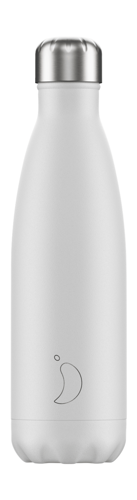 Chilly´s Juomapullo Monochrome White 500ml