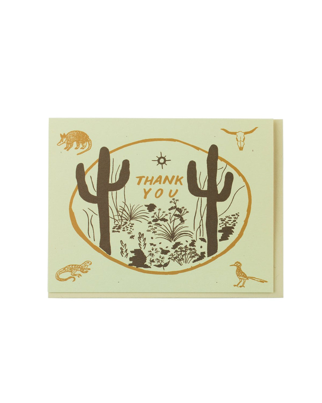 sonoran thank you card
