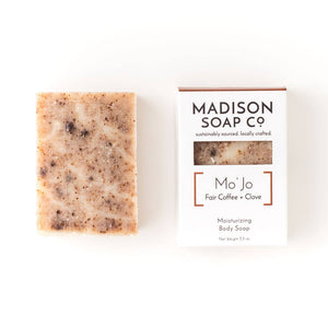 coffee + clove moisturizing body soap