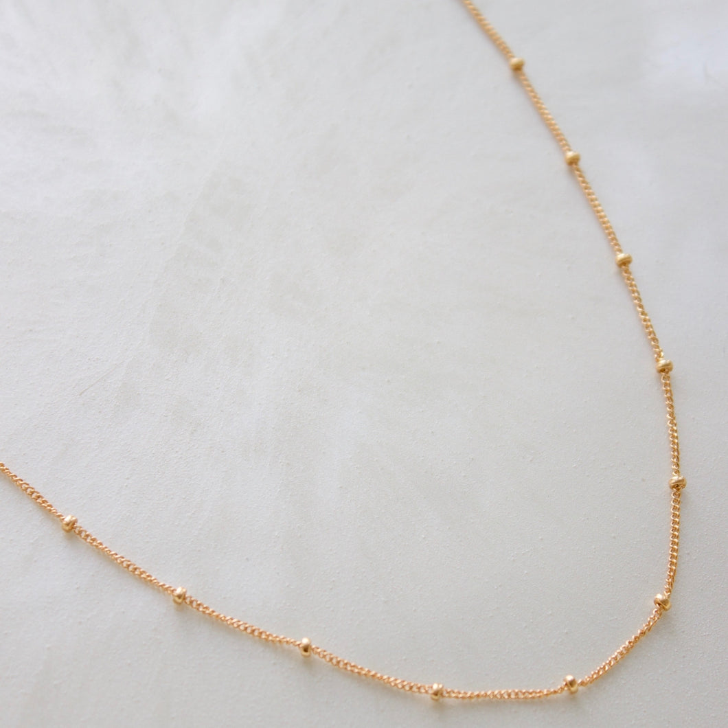satellite chain necklace