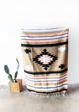 Load image into Gallery viewer, desert rose diamond blanket