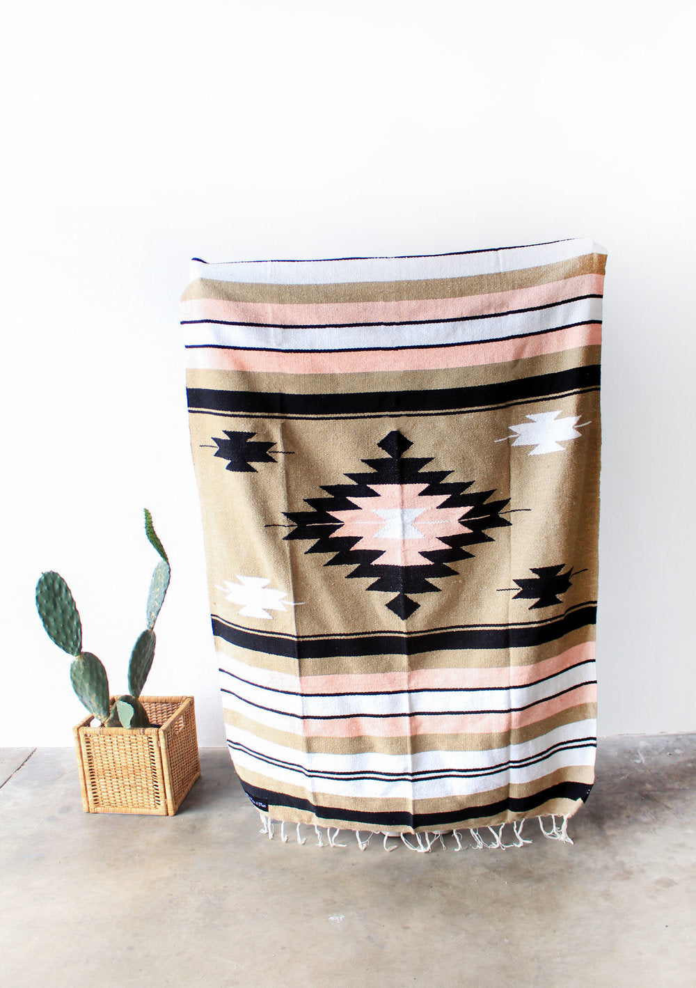desert rose diamond blanket