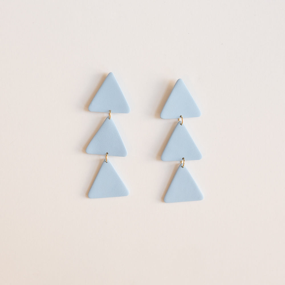 the margot earrings in blue