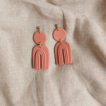 Load image into Gallery viewer, terracotta francis earrings