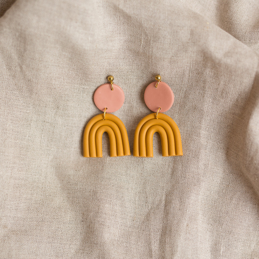 ochre astrid earrings