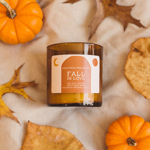 fall in love candle