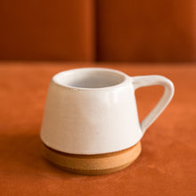 Load image into Gallery viewer, medium ceramic white mug