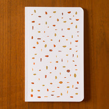 Load image into Gallery viewer, hand painted notebook confetti 2