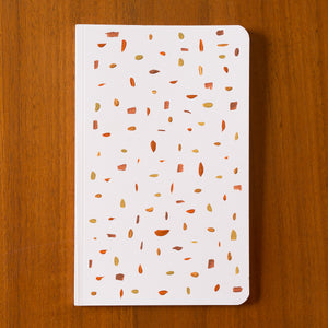 hand painted notebook confetti 1