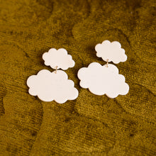 Load image into Gallery viewer, cloud earrings