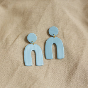 arch earrings in sky