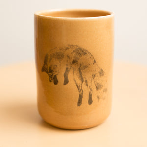 fox tumbler in earth
