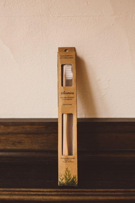 bamboo compostable toothbrush