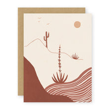 Load image into Gallery viewer, desert afternoon card