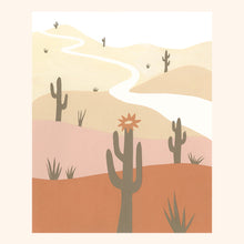 Load image into Gallery viewer, saguaro print