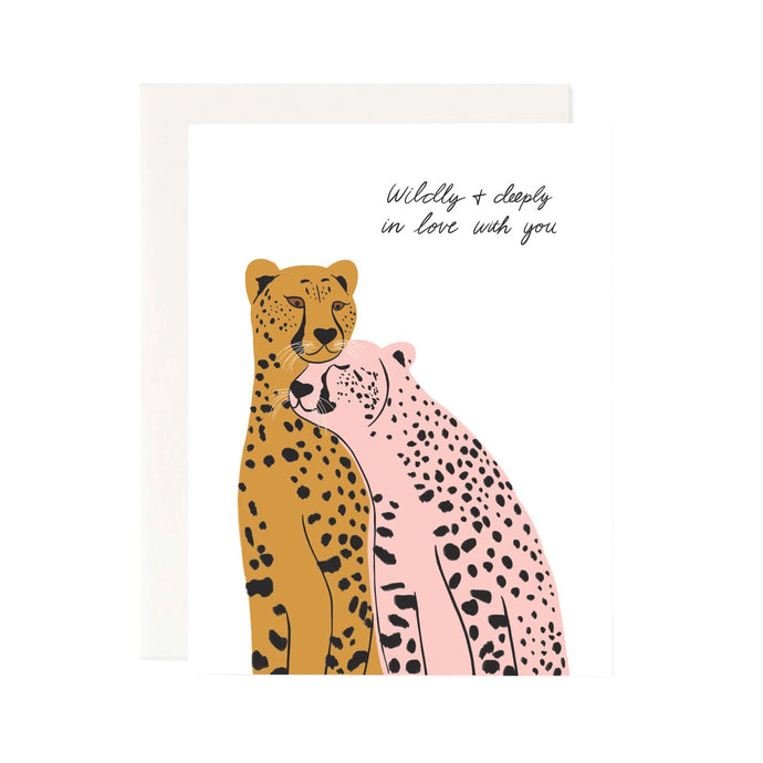 wildly in love card