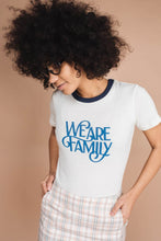 Load image into Gallery viewer, we are family tee