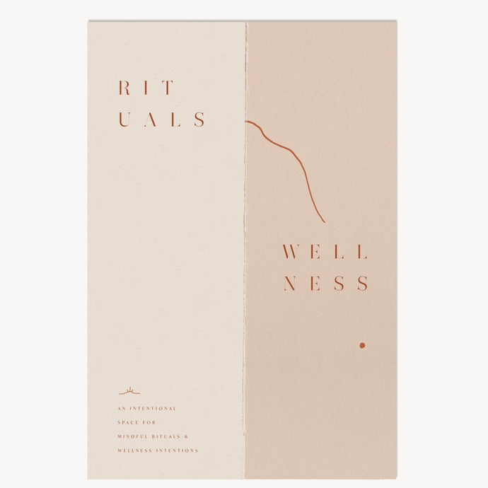 rituals & wellness guided notebook