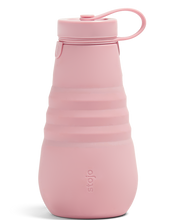 Load image into Gallery viewer, collapsible water bottle in carnation