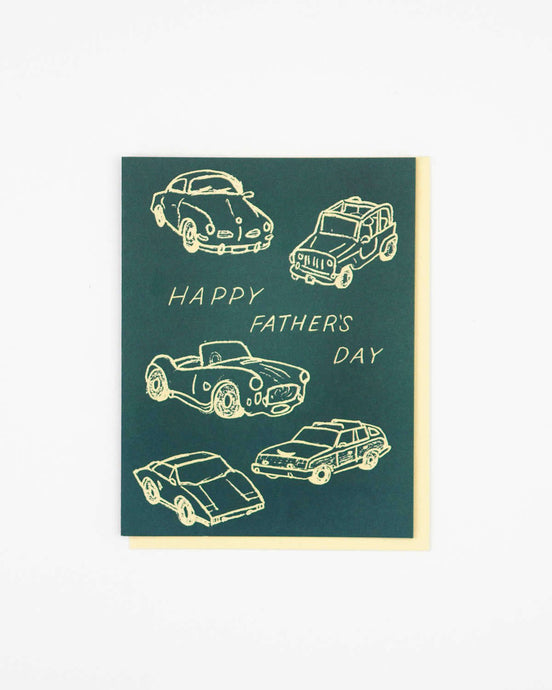 father's day cars card