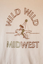 Load image into Gallery viewer, wild wild midwest women's tee