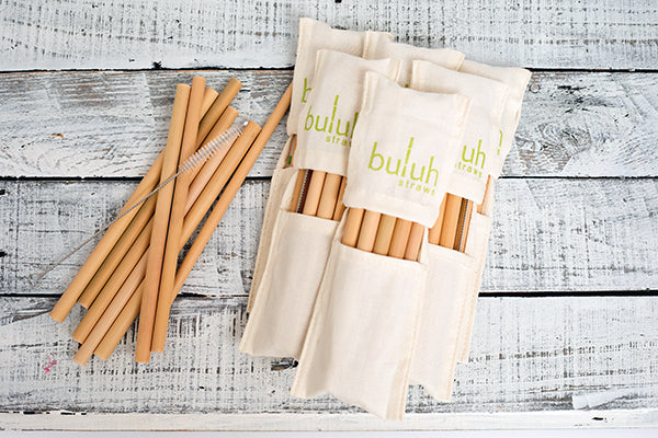 Image result for Bamboo Straws from Buluh