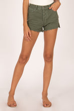 Load image into Gallery viewer, shoreline denim shorts in sage