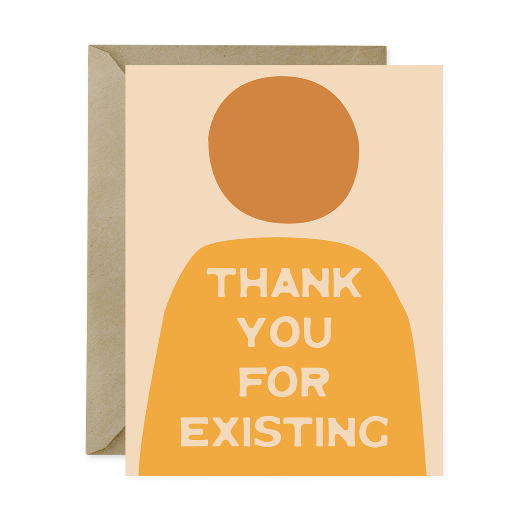 thank you for existing card