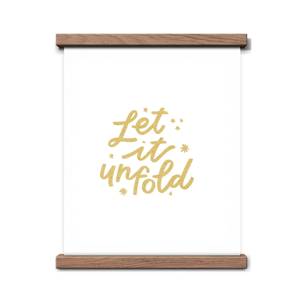 let it unfold print
