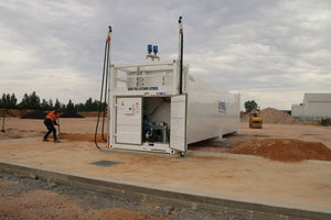 David Boots Sand and Gravel, Leeton, NSW - CON-65 iFUEL® Containerised Self Bunded Tank